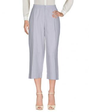 Повседневные брюки ALPHA STUDIO. Цвет: светло-серый
