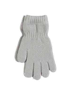 Перчатки Веселый ветер. Цвет: светло-серый