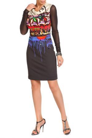 Платье SALLY NEW YORK. Цвет: черный, красный, синий