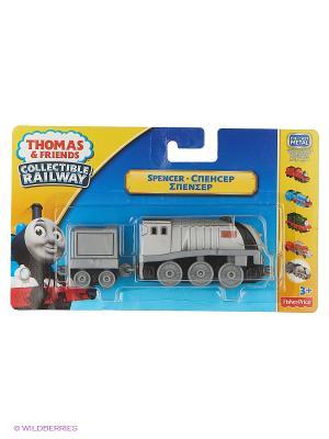 Паровозик базовый с вагоном Серия Коллекция THOMAS & FRIENDS. Цвет: серебристый