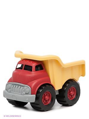 Игрушка Самосвал Green Toys. Цвет: светло-желтый, серый, бордовый