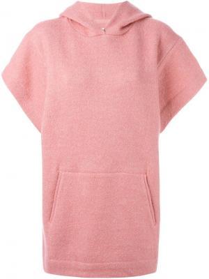 Свитер с капюшоном Dresley Isabel Marant Étoile. Цвет: розовый и фиолетовый