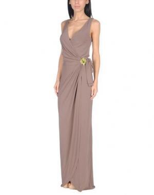 Пляжное платье FISICO. Цвет: хаки