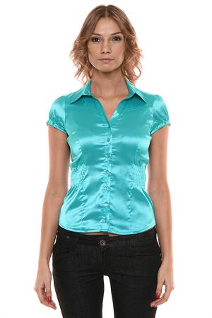 Блузка Fusion. Цвет: зеленый