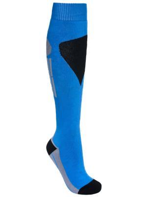 Носки Trespass. Цвет: голубой