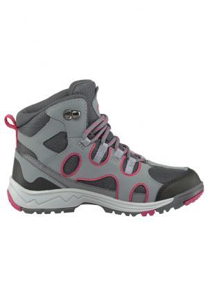 Ботинки Jack Wolfskin. Цвет: серый/ярко-розовый