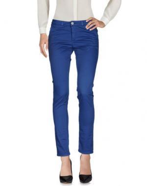 Повседневные брюки BLUE LUXURY. Цвет: синий