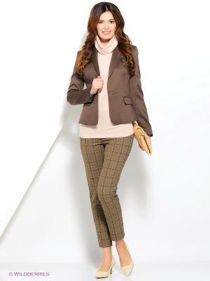 Пиджак LaFabricante. Цвет: коричневый