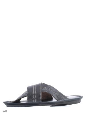 Тапочки-пантолеты PANTOLETTI. Цвет: коричневый