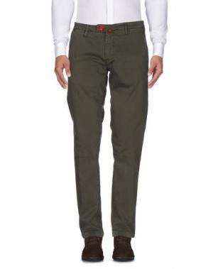 Повседневные брюки BARONIO. Цвет: зеленый-милитари