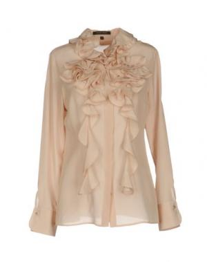 Pубашка WALTER VOULAZ. Цвет: светло-розовый