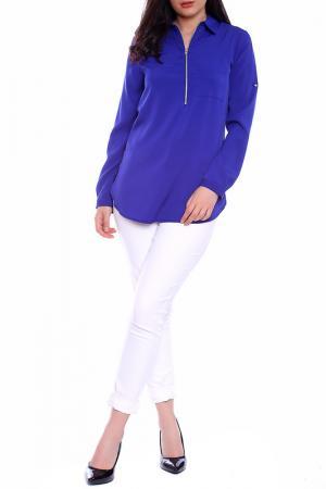 Блуза Moda di Chiara. Цвет: blue