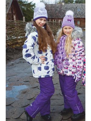 Комплект одежды REIKE. Цвет: фиолетовый, белый