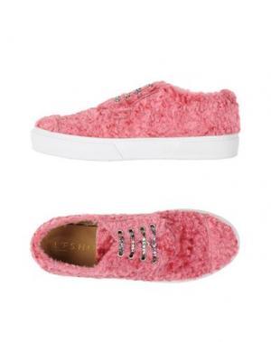Низкие кеды и кроссовки L'F SHOES. Цвет: пастельно-розовый