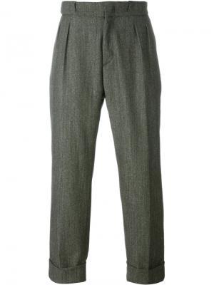 Свободные брюки Pence. Цвет: зелёный