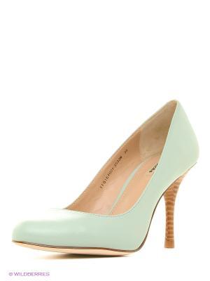 Туфли Mascotte. Цвет: серо-зеленый