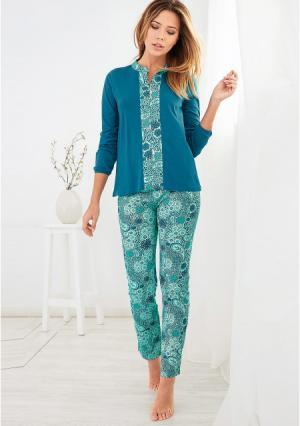 Пижама Venca. Цвет: синий (лазурный)