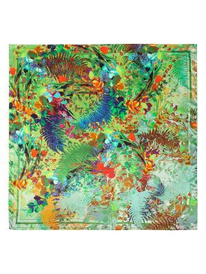 Платок Eleganzza. Цвет: синий, горчичный, зеленый, оранжевый, рыжий, фиолетовый, хаки