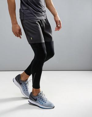 New Look Темно-серые шорты SPORT Running. Цвет: серый