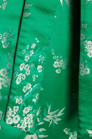 Пальто-халат в стиле кимоно Attico. Цвет: зеленый
