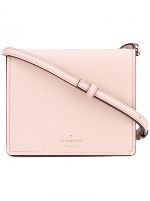 Flap crossbody bag Kate Spade. Цвет: розовый и фиолетовый
