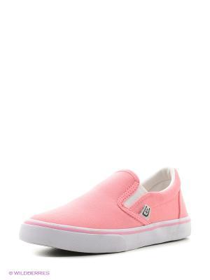 Слипоны 4U. Цвет: бледно-розовый, розовый, бежевый