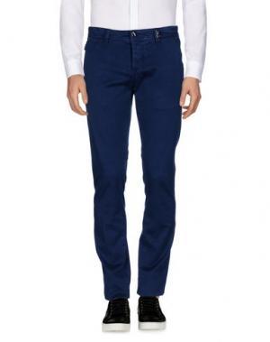Повседневные брюки TRAMAROSSA. Цвет: синий