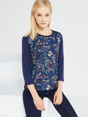 Блузка Reserved. Цвет: темно-синий