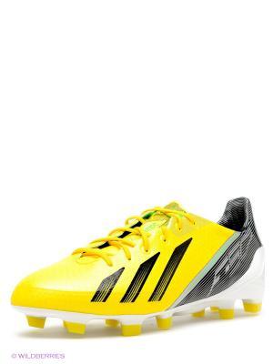 Бутсы adizero F50 Adidas. Цвет: желтый