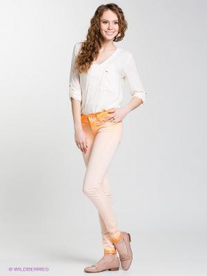 Джинсы COLETTE Salsa. Цвет: светло-оранжевый