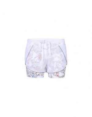 Повседневные шорты LUCAS HUGH. Цвет: белый