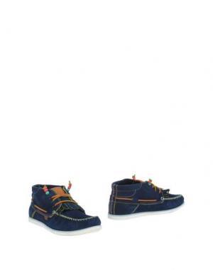 Полусапоги и высокие ботинки DOLFIE. Цвет: темно-синий