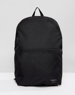 Sandqvist Черный рюкзак из ткани рипстоп Oliver. Цвет: черный