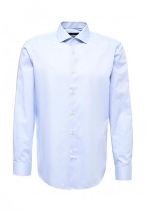 Рубашка Boss Hugo. Цвет: голубой