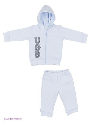 Комплект одежды United Colors of Benetton. Цвет: светло-серый