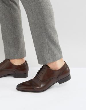 ALDO Оксфорды со вставкой на носке Saylian. Цвет: красный