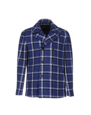 Пальто MARC BY JACOBS. Цвет: синий