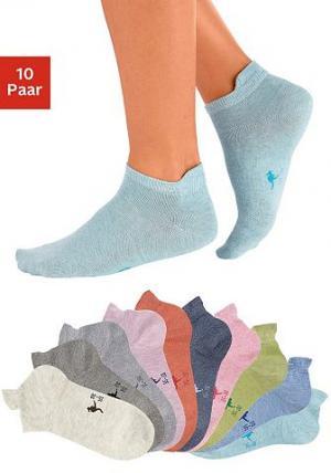 Носки, 10 пар KANGAROOS®. Цвет: набор