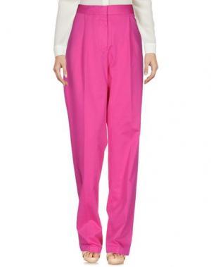 Повседневные брюки ARIES. Цвет: фуксия