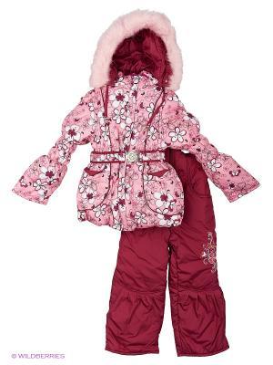 Комплект для девочки Rusland. Цвет: розовый