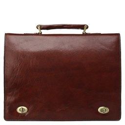 Портфель  7737 коричневый GERARD HENON