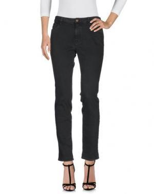 Джинсовые брюки MASON'S. Цвет: свинцово-серый
