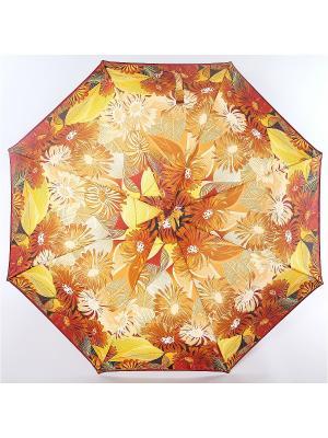 Зонт Airton. Цвет: темно-коричневый, светло-желтый