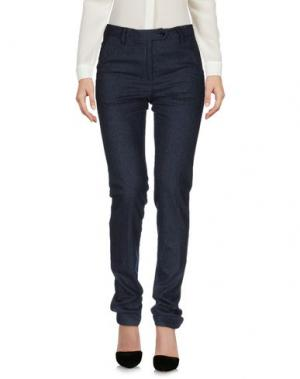Повседневные брюки KITON. Цвет: темно-синий
