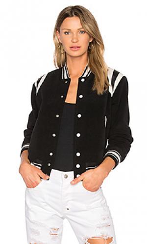 Куртка бомбер kenny NSF. Цвет: черный