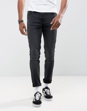 Antioch Черные джинсы скинни. Цвет: черный