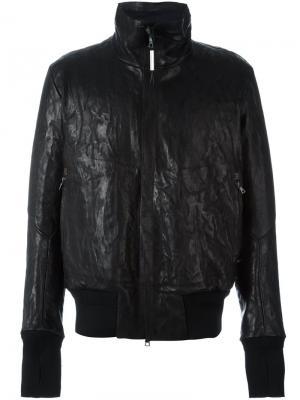 Куртка с широким воротником Isaac Sellam Experience. Цвет: чёрный
