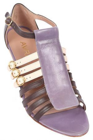 Босоножки Avril Gau. Цвет: фиолетовый
