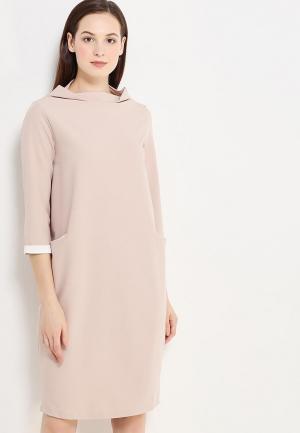 Платье Perfect J. Цвет: бежевый