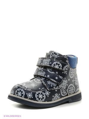 Ботинки Mursu. Цвет: синий